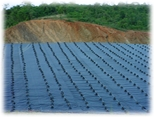 Geomembrane for Protection of Cell Berm and Leachate Subdrainage System